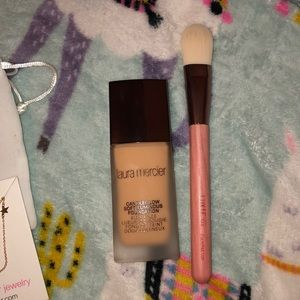 Laura Mercier Foundation and luxie brush
